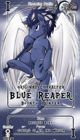 [Commission] Blue Reaper