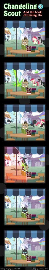 Changeling Scout And The Book Of Daring Do 01