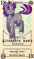Character Card : Alternate Dawn