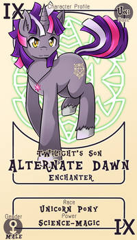 Character Card : Alternate Dawn