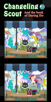 Changeling Scout And The Book Of Daring Do 03