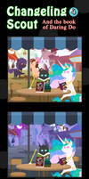 Changeling Scout And The Book Of Daring Do 04