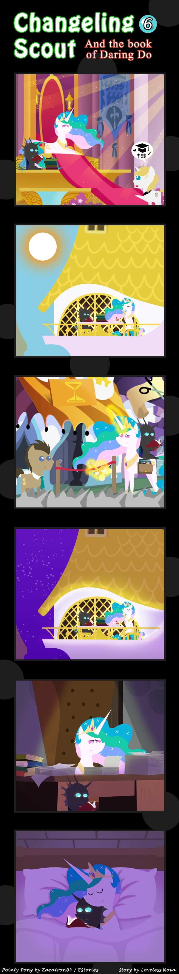 Changeling Scout And The Book Of Daring Do 06
