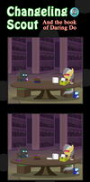 Changeling Scout And The Book Of Daring Do 09