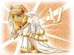 Applejack the bride