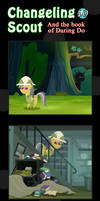Changeling Scout And The Book Of Daring Do 10
