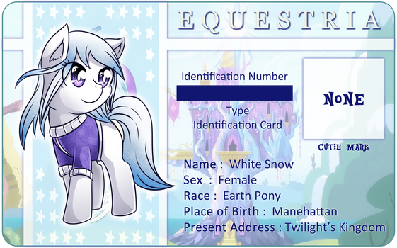 Character Card : White Snow