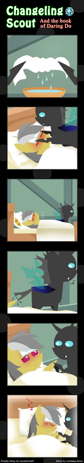 Changeling Scout And The Book Of Daring Do 11