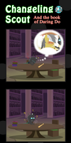 Changeling Scout And The Book Of Daring Do 12