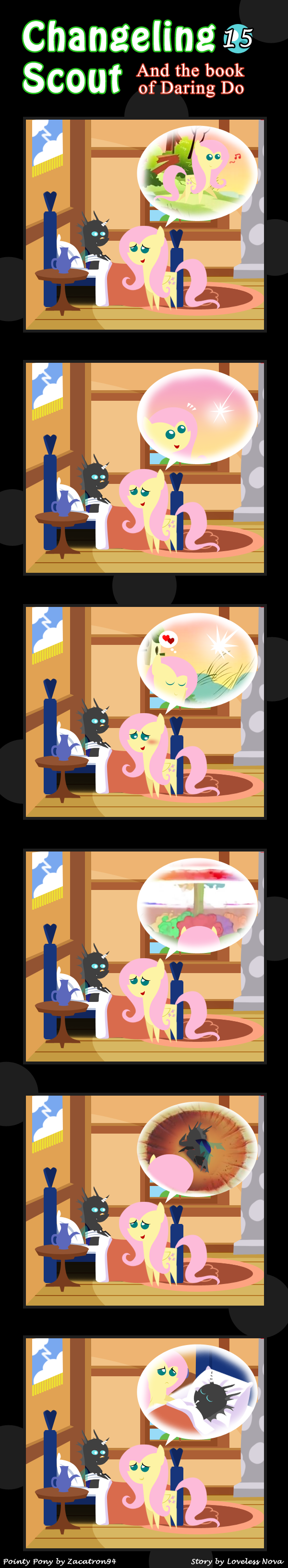 Changeling Scout And The Book Of Daring Do 15