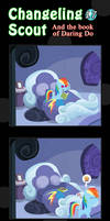 Changeling Scout And The Book Of Daring Do 17