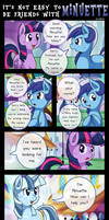 [S05E12] It's not easy to be friend with Minuette