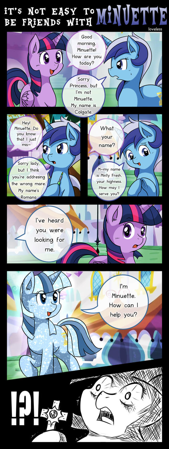[S05E12] It's not easy to be friend with Minuette by vavacung