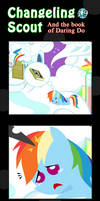 Changeling Scout And The Book Of Daring Do 19