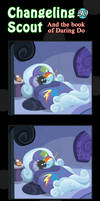 Changeling Scout And The Book Of Daring Do 20