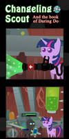 Changeling Scout And The Book Of Daring Do 24