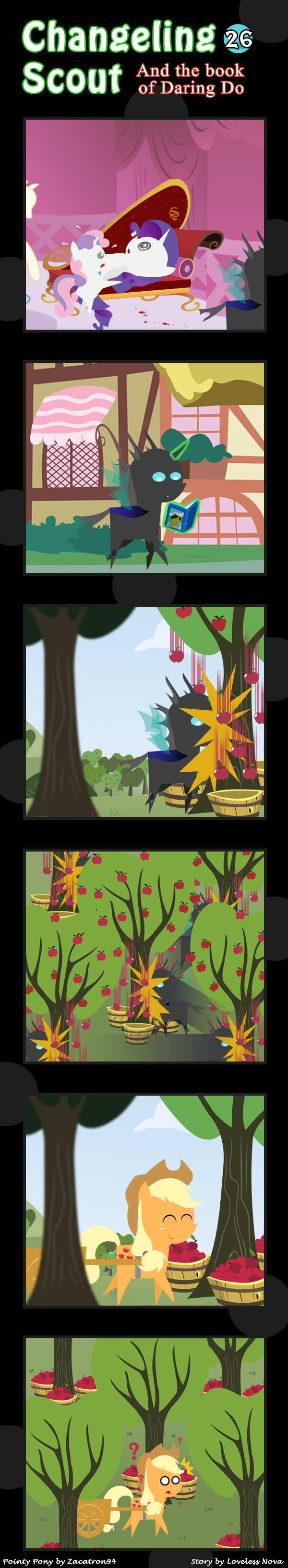 Changeling Scout And The Book Of Daring Do 26