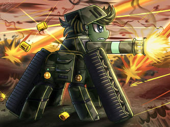 [Reward] Mare Of Tank by vavacung