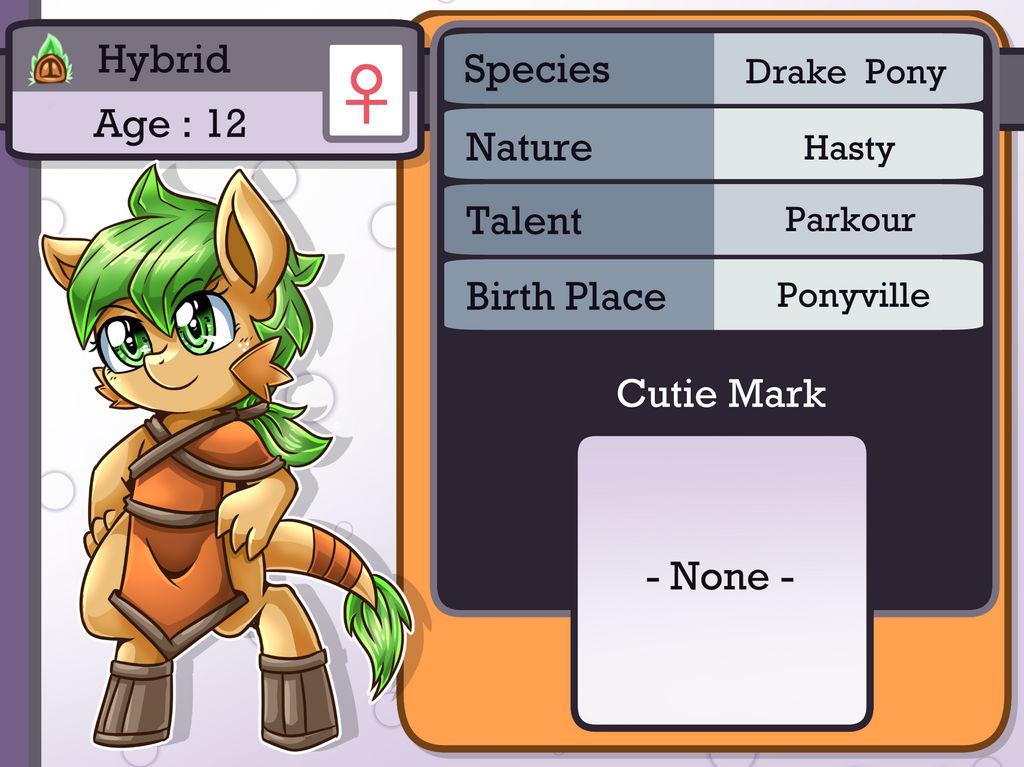 Character Info : Hybrid