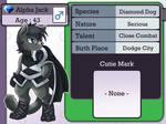 Character Info : Alpha Jack