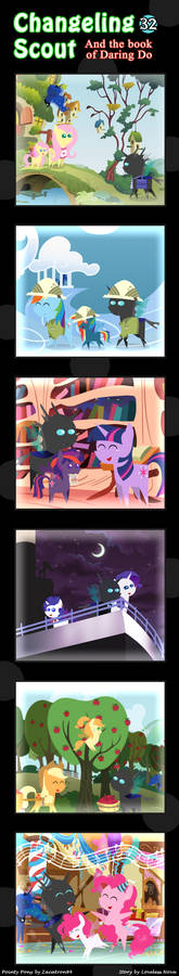 Changeling Scout And The Book Of Daring Do 32