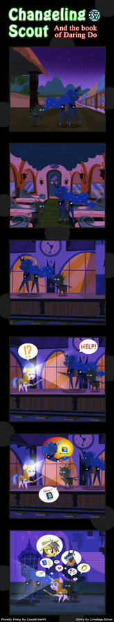Changeling Scout And The Book Of Daring Do 37