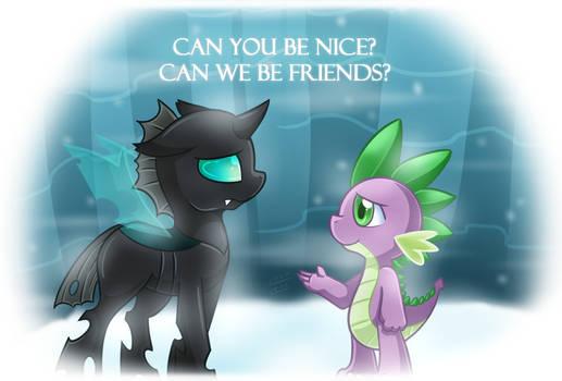 [FanArt] Can We Be Friend?