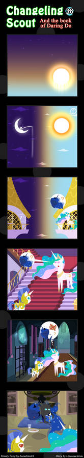 Changeling Scout And The Book Of Daring Do 38