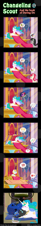 Changeling Scout And The Book Of Daring Do 39