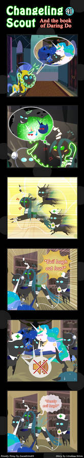 Changeling Scout And The Book Of Daring Do 41