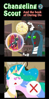 Changeling Scout And The Book Of Daring Do 42