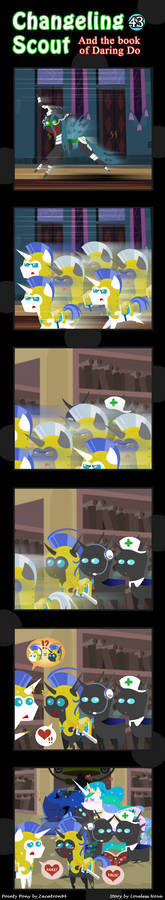 Changeling Scout And The Book Of Daring Do 43