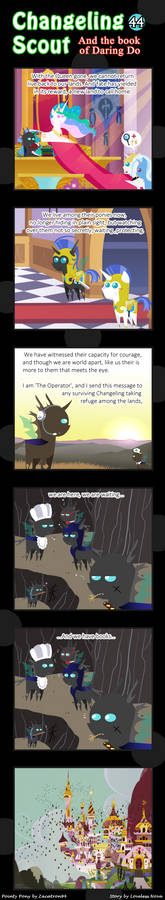 Changeling Scout And The Book Of Daring Do 44