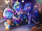 [Reward] Nightmare Night As Princesses