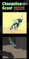 Changeling Scout And The Book Of Daring Do Final