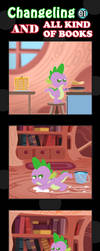 Changeling And All Kind Of Books 01 by vavacung