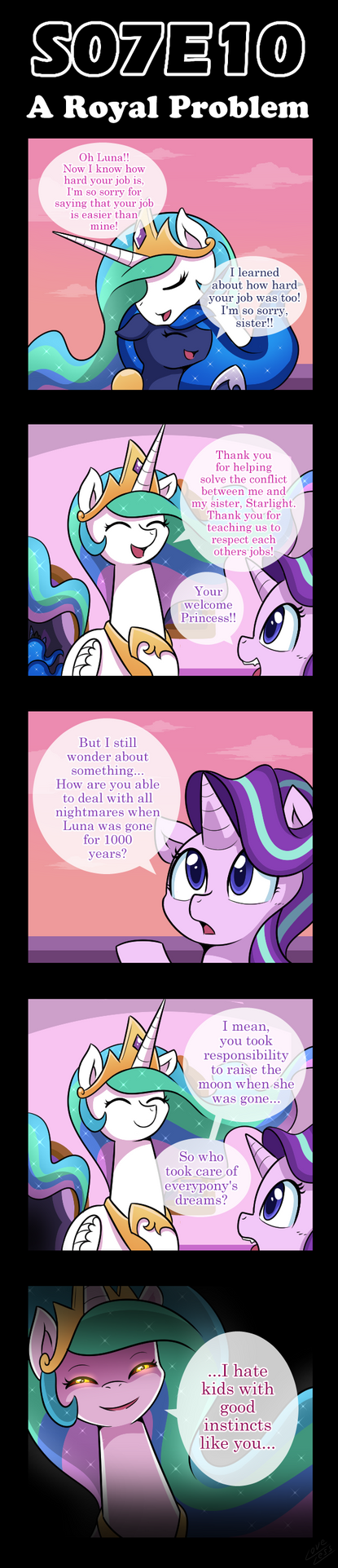 [S07E10] A Royal Problem [Comic] by vavacung