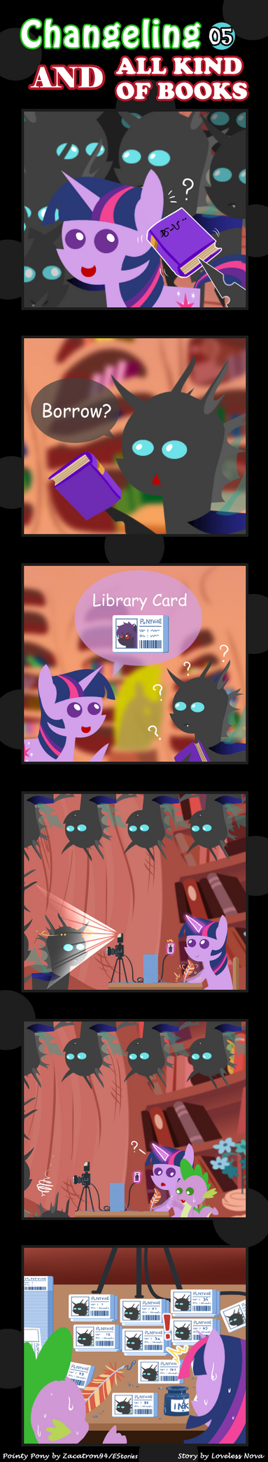 Changeling And All Kind Of Books 05 by vavacung