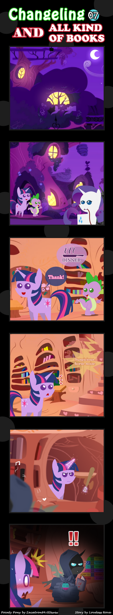 Changeling And All Kind Of Books 07 by vavacung