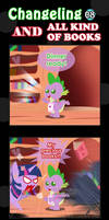 Changeling And All Kind Of Books 08 by vavacung