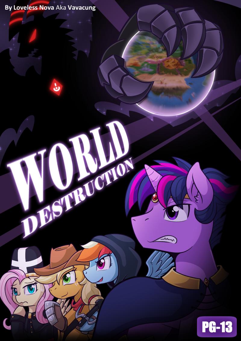[SFW Comic] World Destruction Cover
