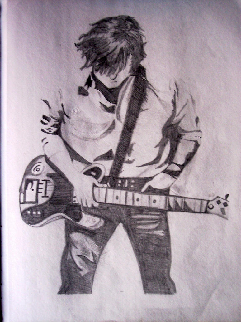 guitar boy by dreamer831 on DeviantArt Boy With Guitar Drawing