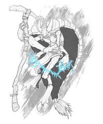 Thri-Kreen Lightning Shaper