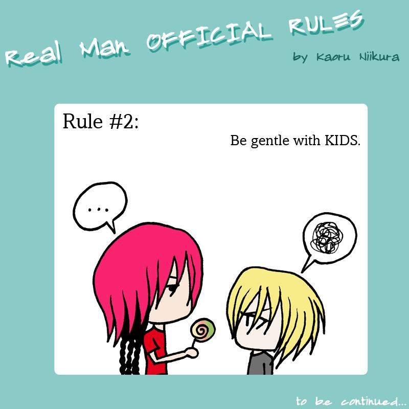 Kaoru REAL MAN RULES 2 by Paoru