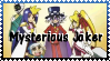 Mysterious Joker Stamp by PendulumPisces