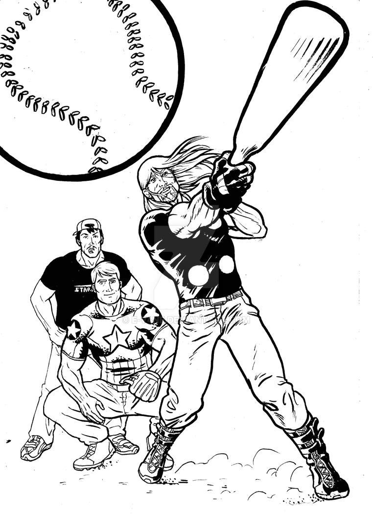 Thor Thursday 37 Baseball by e-v4ne