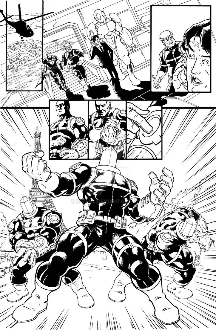 New Avengers 2 page 1 - sample by e-v4ne
