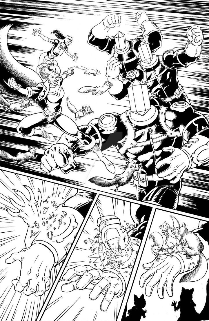 New Avengers 2 page 3 - sample by e-v4ne