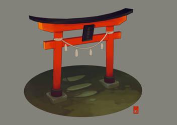 Shrine_Concept art