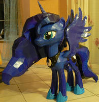 Project Princess Luna MLP fully folded
